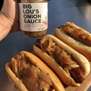Big Lou's Garlic Onion Sauce