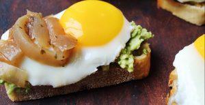 Easy Fried Egg Avocado Toast